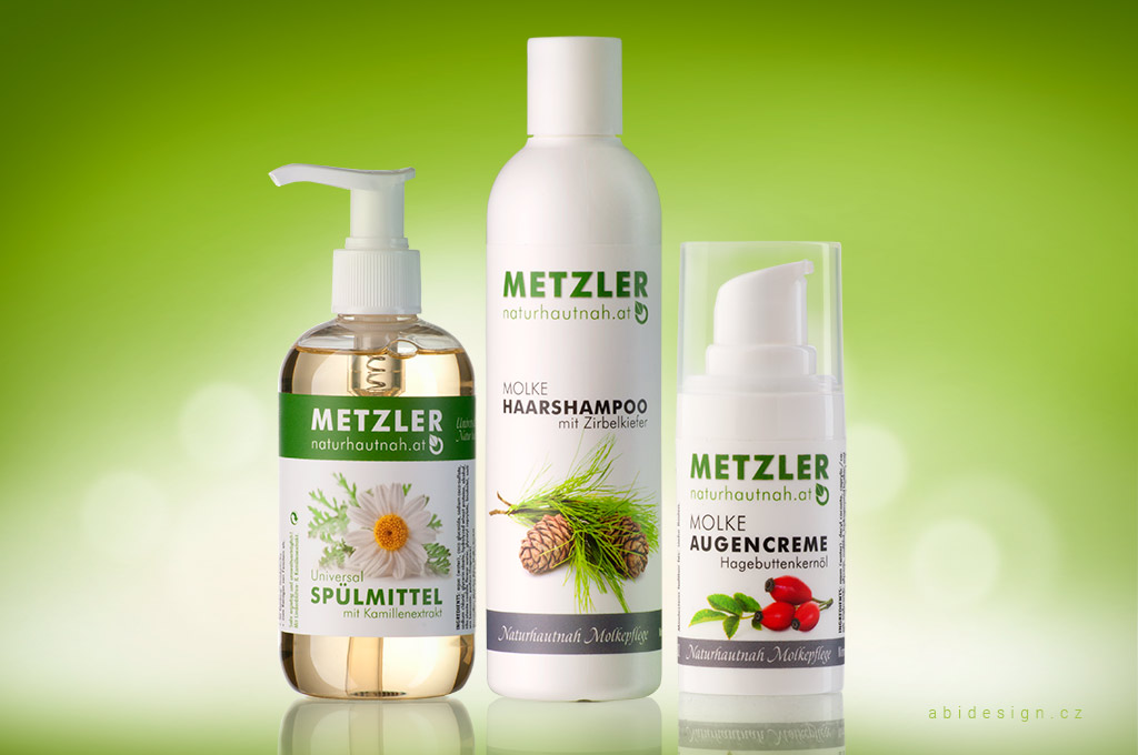Produktová fotografie, kosmetika