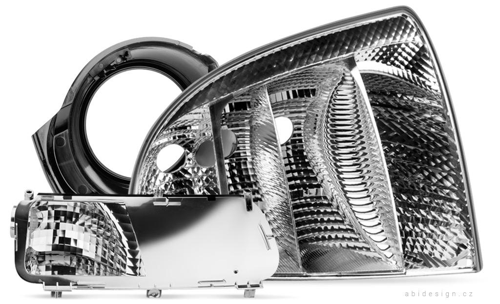 Produktová fotografie, komponenty pro automobily