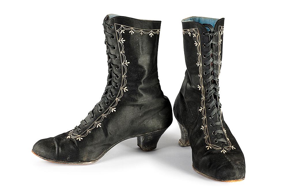 Fotografie kožené boty
