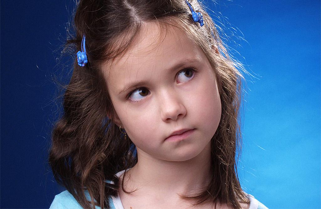 Ateliérová portrétní fotografie, děti
